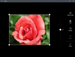 Photos app screenshot